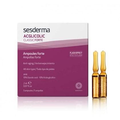 Acglicolic Classic Ampolas Forte Antienvelhecimento Sesderma 5x2ml